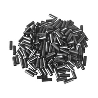 200PCS Cycling Mountain Bike 4mm 5mm Brake Cable Tips Crimps Bicycles Derailleur Shift Cable End Caps