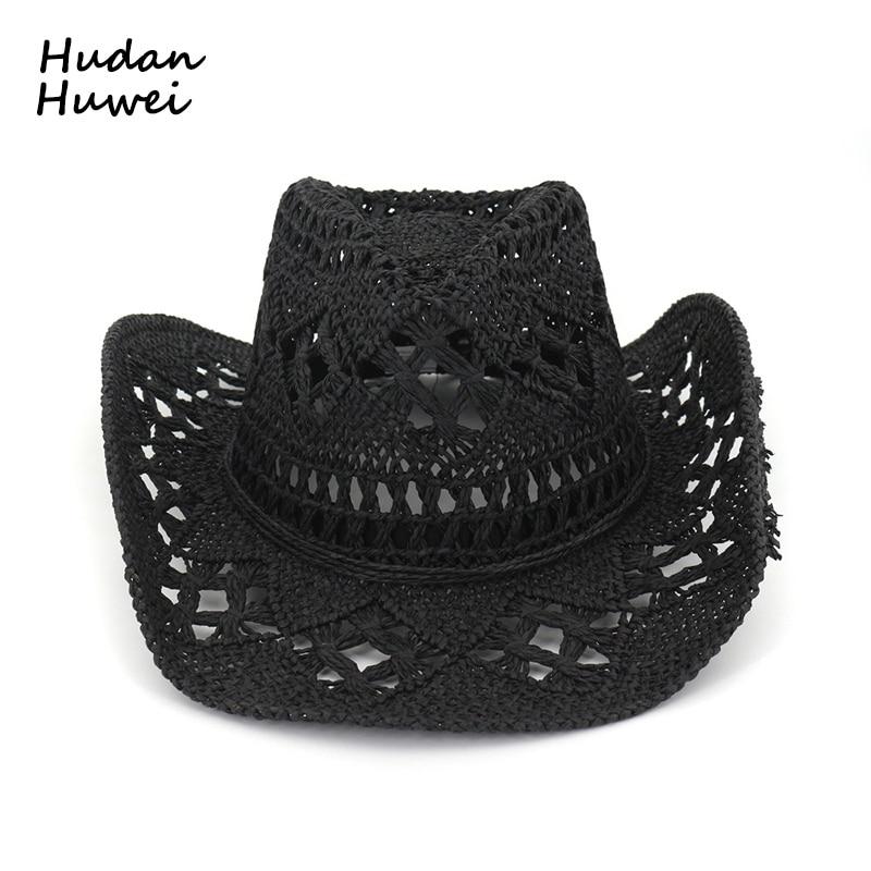 6e446c9b22425 Bull Rider Jazz Fedora Sunhat Men Women Felt Hats Ribbon Band Western  Cowboy Hat Black 6 Colors Trilby Bowler Hat for Unisex