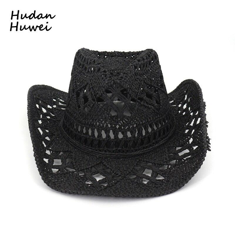 GEMVIE Mens /& Womens Western Cowboy Hat Wide Brim Wool Felt Outback Hat for Travel Outdoor