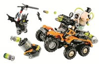10737 Batman Movie Bane Toxic Truck Attack Building Blocks Compatible With Lego Toys Gift For Children