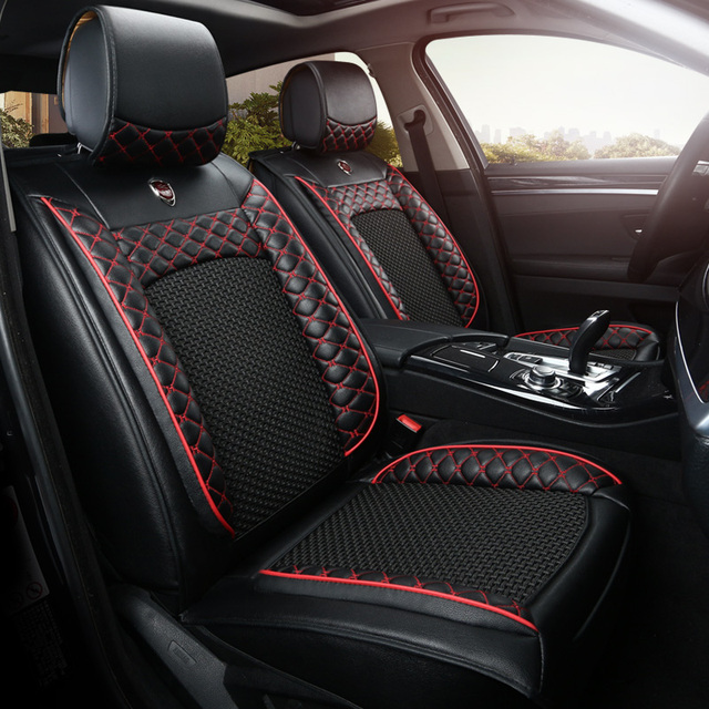 artificial leather auto universal car seat covers for honda accord