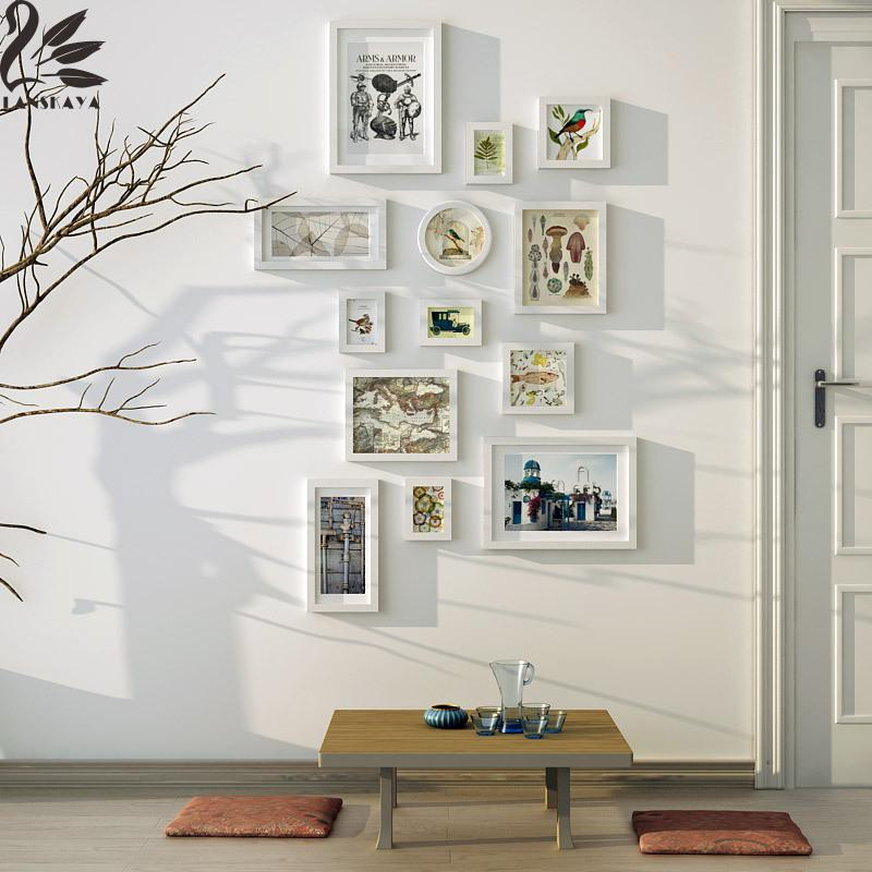 Lanskaya 2018 2018 pintura marco moldura Pared de madera maciza ...