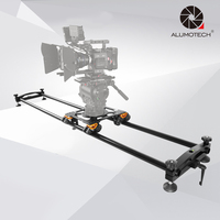 ALUMOTECH 78.7/200cm Aluminum Camera Slider Bear 50KG Travel Video Slider Dolly Track DSLR Rail For Videographer