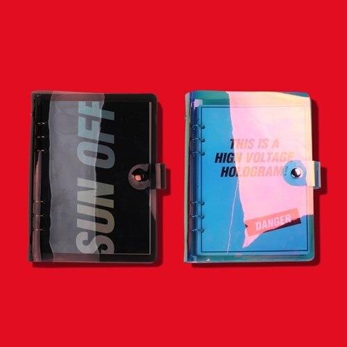 2018 Super Cool PVC couverture A5 spirale journal 172 P créatif couleurs hebdomadaire planificateur école fournitures de bureau livraison gratuite