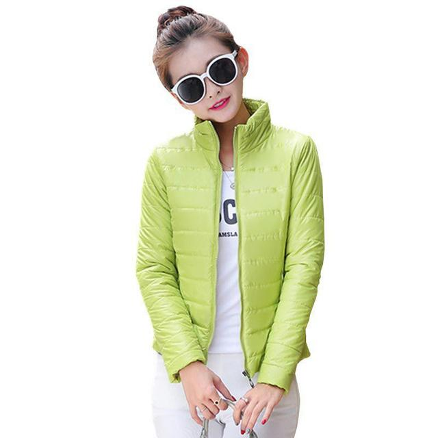 2016 NEW Women Coat Fashion Parkas Autumn Winter Female Down Jacket Women Inverno Parka Wadded plus size
