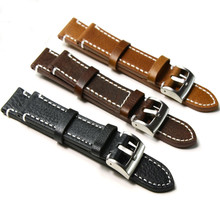 Luxury Brand Genuine Leather Watchband 18mm-24mm Collocation Of Various Kinds Of Watches For Men Watch Strap