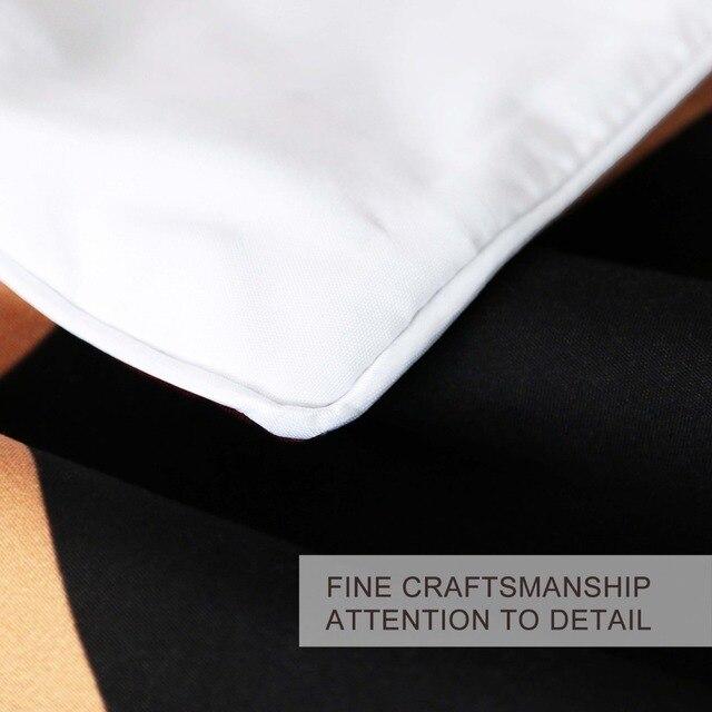 BlessLiving Geometrica Set di Biancheria Da Letto Nero Bianco Duvet Cover Set di Marmo Blocchi di Stampa Cubo Letto Copriletto Copertura Alla Moda Queen