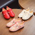 2017 new fashion party girls shoes crianças bebê crianças menina princesa sapato de couro primavera outono tamanho 21 ~ 36 para 2 ~ 9 anos vermelho NN19