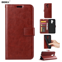 hot deal buy idools flip case for huawei mate 20 lite luxury stand wallet cover pu leather tpu phone bags cases for huawei mate 20 lite shell