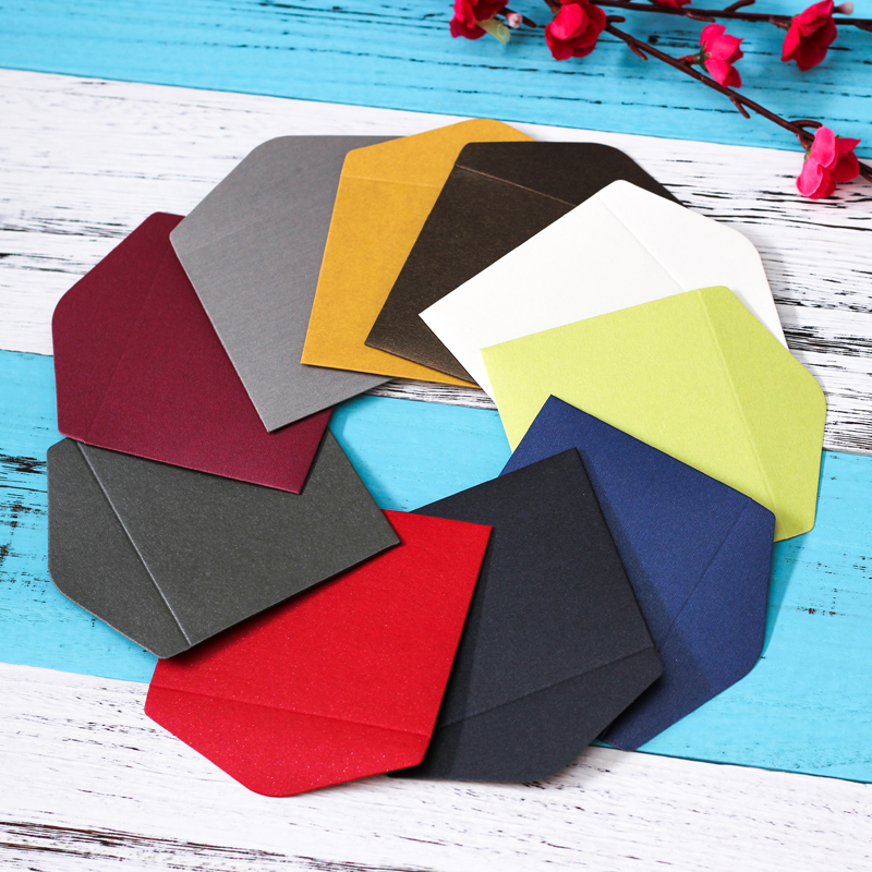 30pcs/lot Vintage Romantic Mini Paper Envelope For Student Cute ID Card Holder Wedding Scrapbooking Letter Envelope Gifts