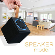 Itek Mini Portable Fabric Square Wireless Bluetooth Speaker Outdoors Subwoofer Soundbar Handsfee Calls Support TF Card FM Radio