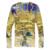 Pintura 3D T Shirt Hombres Moda Psicodélica de Algodón Streetwear ocasional T Hombres de la Camisa de Manga Larga de La Vendimia V Cuello M-3XL