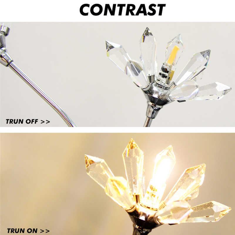 Lampe à LED G4 G9 AC 12V 220V 3W 6W Mini COB LED G4 G9 ampoule 360 Angle de faisceau remplacer les lumières de lustre halogène