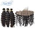 Топ-гард новая звезда перуанский девственных человеческого волоса глубокая волна weave 3 расслоения с 13*4 закрытие фронтальная дело сексуальный стиль alibaba экспресс