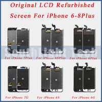 Grade AAA +++ Original LCD Renoviert Screen Display Für iPhone 6S 7 8 Plus Original LCD Display Touch Screen digitizer