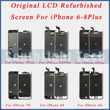 Grade AAA + + + Original LCD Renoviert Screen Display Für iPhone 5S 5SE 6 6S Plus Original LCD Display touchscreen Digitizer