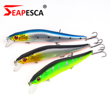 SEAPESCA 140mm 23g Lengthy Minnow Fishing Lure 0-1.5m Diving Pesca Exhausting Bait Assorted Colours Skilled Fashing Bait YA8