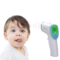 Forehead Ear Non Contact Thermometer Professional Fever Temperature Infrared Scanner For baby with Bilingual Celsius Fahrenheit