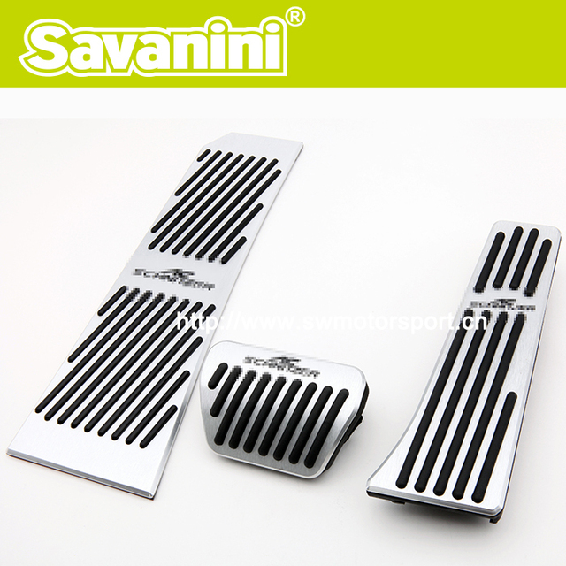 New Model Car Pedal For BMW F10 /New 5 series GT /New 6 series /7series AT Aluminum alloy! No Screw!