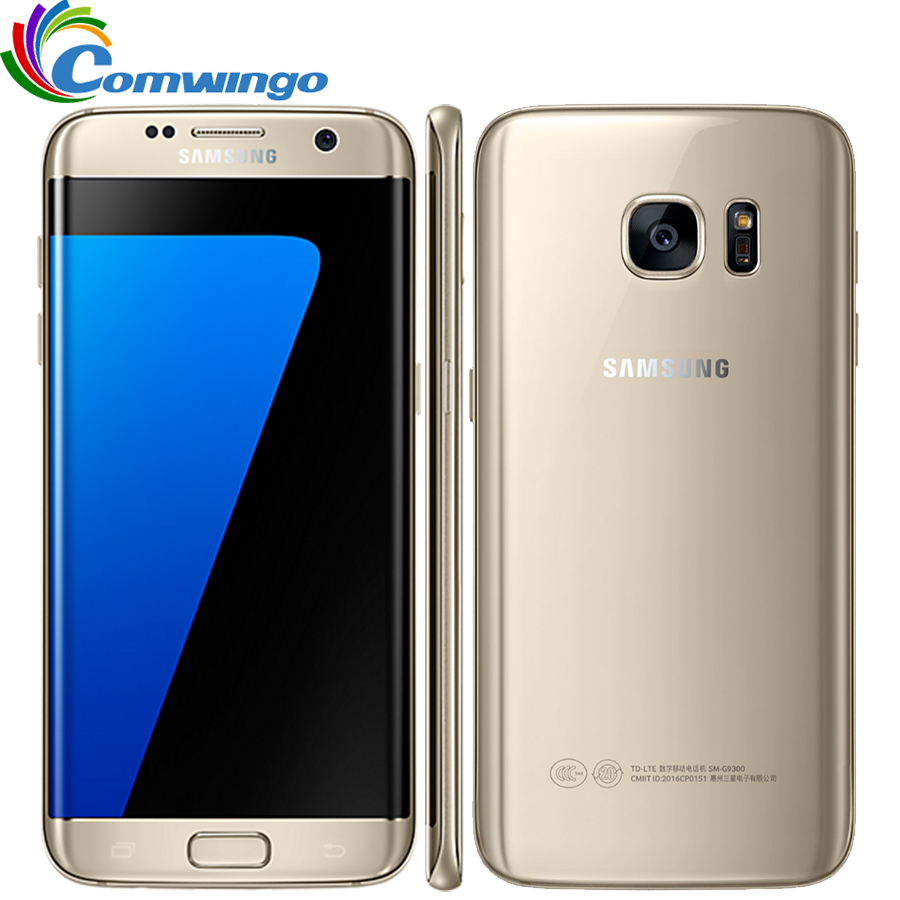 Samsung Galaxy S7 Edge G935F & G935V Smartphone 5.5'' 4GB RAM 32GB ROM Single SIM NFC 12MP 4G LTE Cellphone image