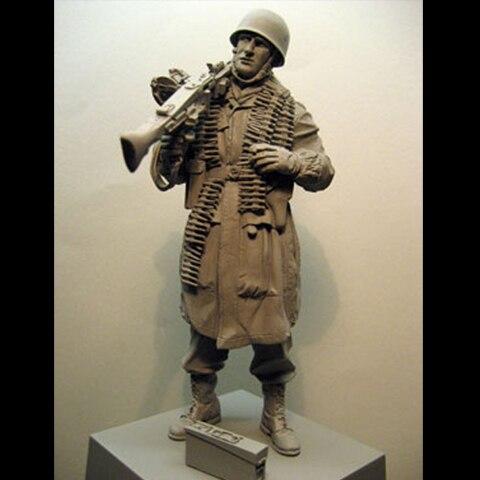 1/16 Resin Figure Soldier Model Kit Soldier 154