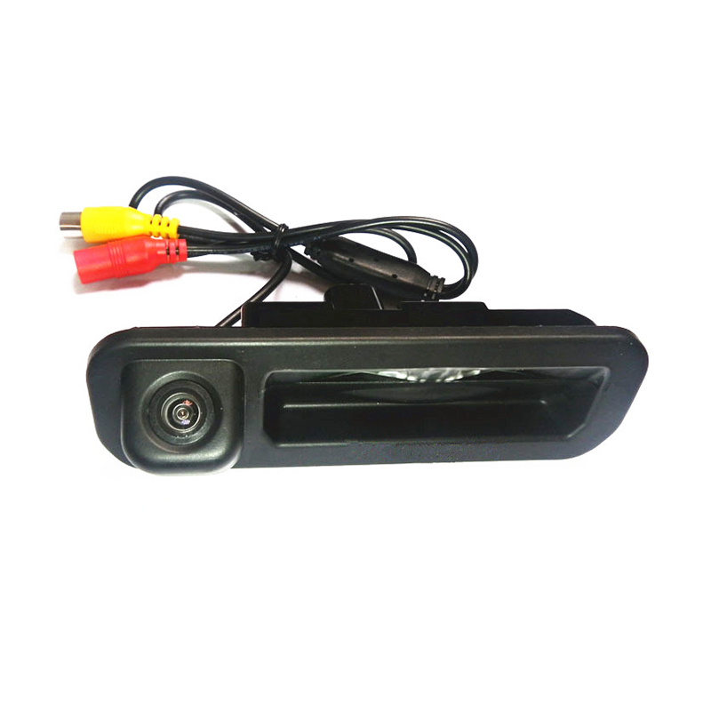 For Ford Focus 2 Focus 3 Hatchback Sedan HD CCD Car parking rearview reverse backup wire wireless Camera 170 degree Trunk handle