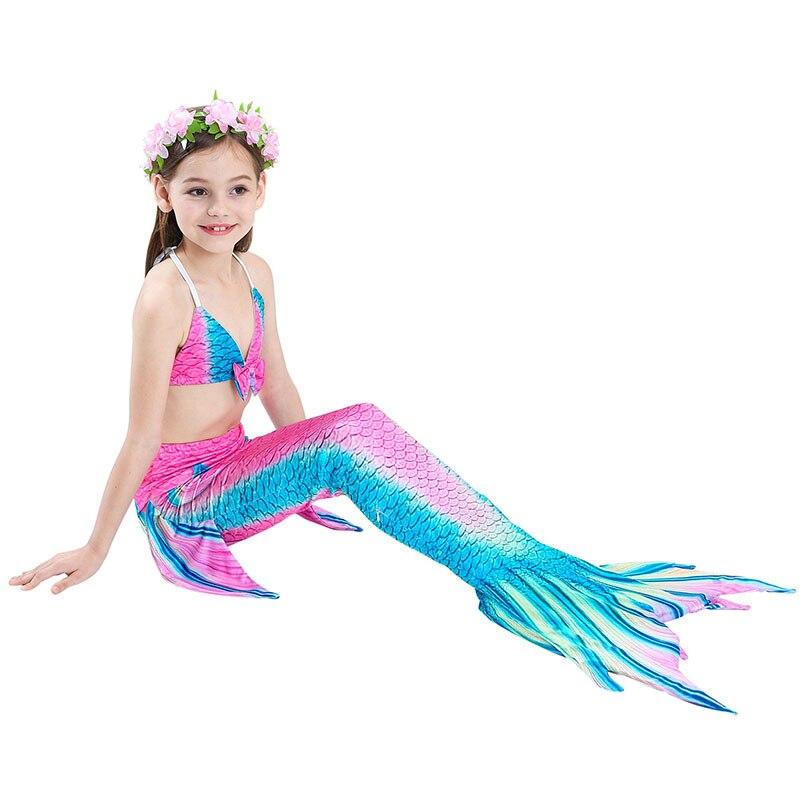girls mermaid tail swimwear 3-6