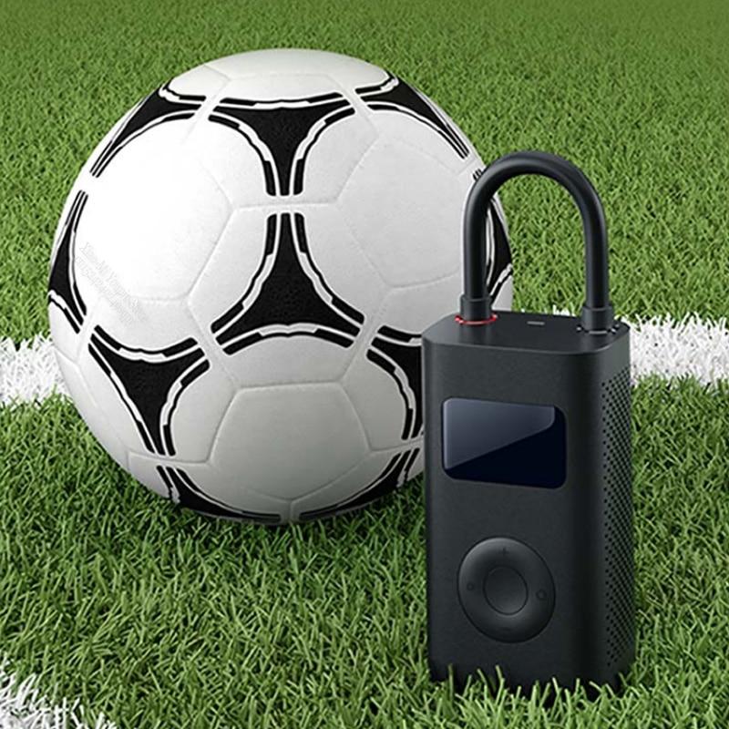 Image 4 - New Original Xiaomi Mijia Portable Smart Digital Tire Pressure  Detection Electric Inflator Pump for Bike Motorcycle Car FootballSmart  Remote Control