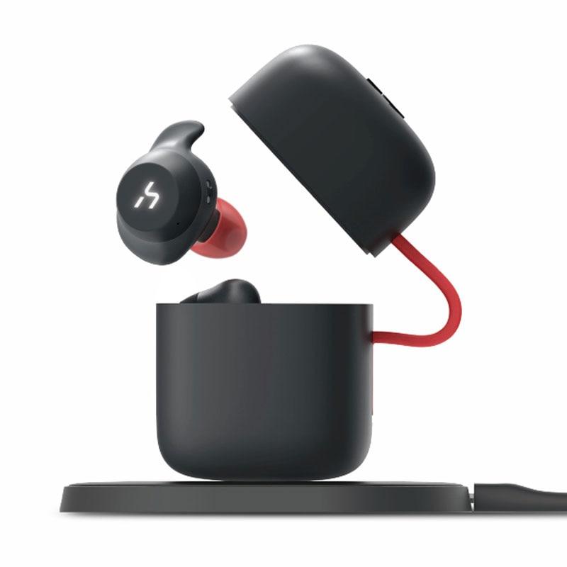 Original HAVIT TWS Bluetooth Earphone True Wireless Sport Earphone Waterproof Stereo Earbuds With Wireless Charging Features tws 5 0 bluetooth earphone touch control stereo music in ear type ipx6 waterproof wireless earbuds with charging box yz209