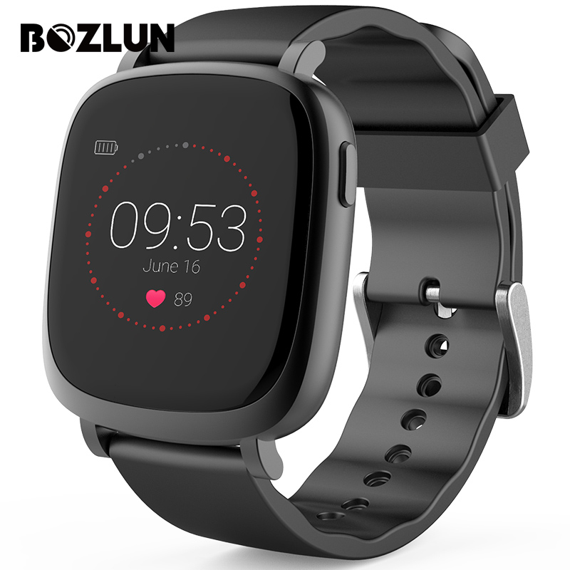 BOZLUN Sports Smart Watches Heart Rate LCD Color Screen Men Multifunction Digital Wristwatches Calories Step Counter Watch L42A skmei men smart watch bluetooth pedometer sports watches calories heart rate call remind digital wristwatches relogio masculino