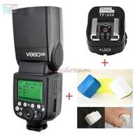 Godox V860II V860II S 2.4G HSS TTL 1/8000s GN60 Flash Speedlite for Sony A9 A7 A7S A7R II III A7M2 A58 A99 A6300 A6000 Camera
