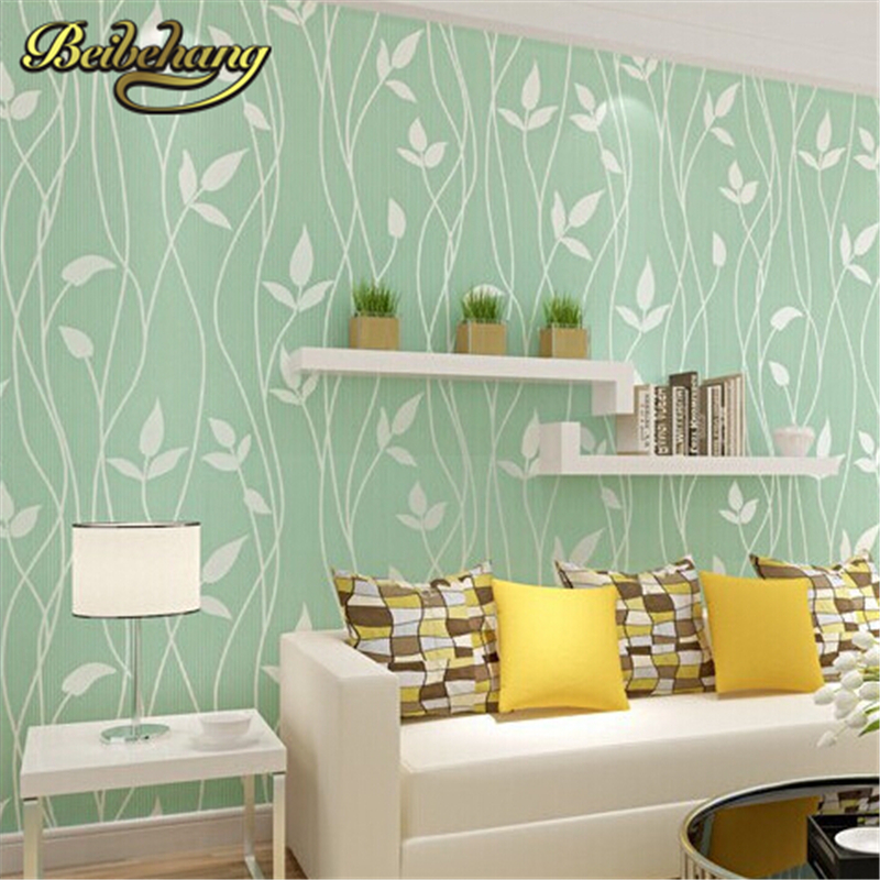 ФОТО beibehang Non Woven Embossed Flocking Wall Paper Europe Minimalist Modern Style Wallpaper Living Room Tv Background Wallcovering