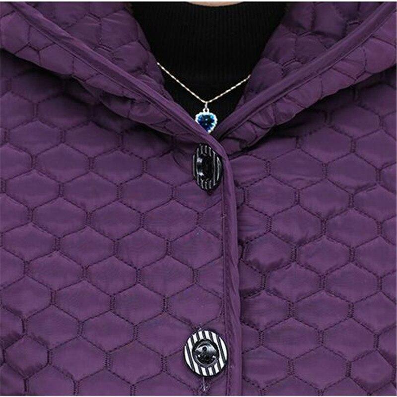 blue K2471 D'âge Taille La Veste De Vêtements D'hiver Capuchon Manteau Chaud Purple Femmes gray À Hiver red Qualité New100 Moyen Grande Mode Assurance qqURp