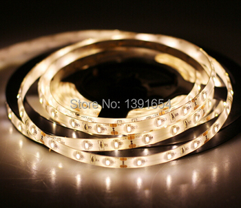 IP65 With Silcon Glue waterproof  3014 smd  LED Strip Light  Flexible 12V 300LEDS  Free Shipping