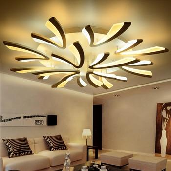 modern led ceiling lights lighting fixtures luminaria lamparas de techo living room acrylic bedroom ceiling  lamp