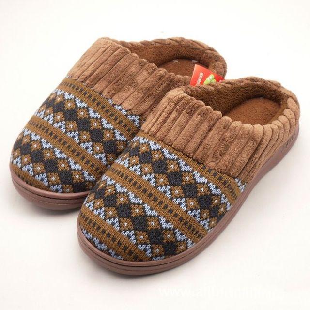 2013New inverno dos homens das mulheres quente chinelos qualidade Casual multi-color Kinted algodão sapatos confortáveis sapatos casa