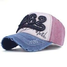 8e5faa91136 New Luxury Brand Vintage Baseball Cap 1962 Fashion Frayed Birm Ball Hat Top  Quality Cotton Leisure