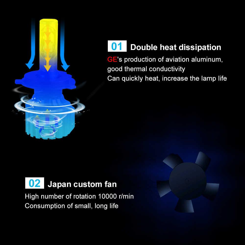 Avacom LED Car Turbo Headlight 12V CSP 6500K 12000Lm 72W Auto DRL Fog Light For Toyota Corolla/Camry/Rav4/Yaris/Echo/Prius/Hilux