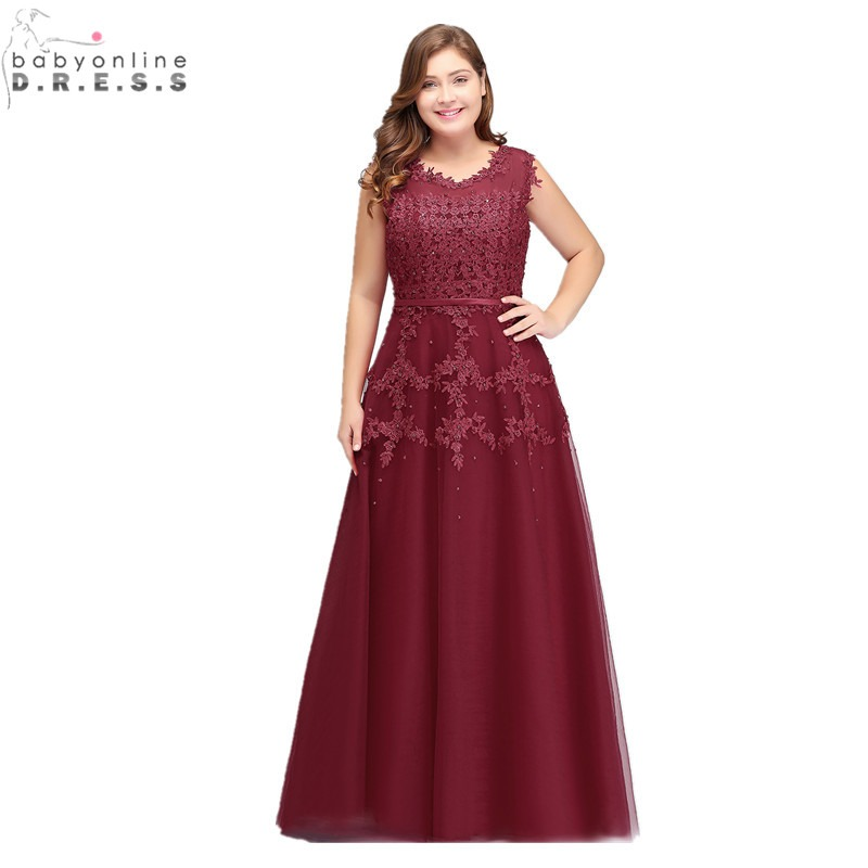 4e469aabf2 Long Prom Dresses Ever Pretty EP09993 2019 Dark Green Plus Size Lace ...