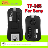 Pixel TF 365 2 4GHz 1 250S Wireless Remote Control Shutter Release Flash Trigger For Sony