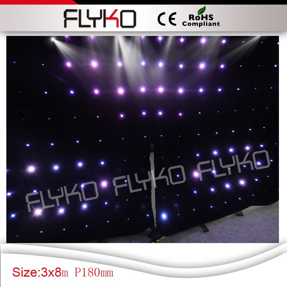 Portable Led Screens : Portable led display screen starlight backdrop in