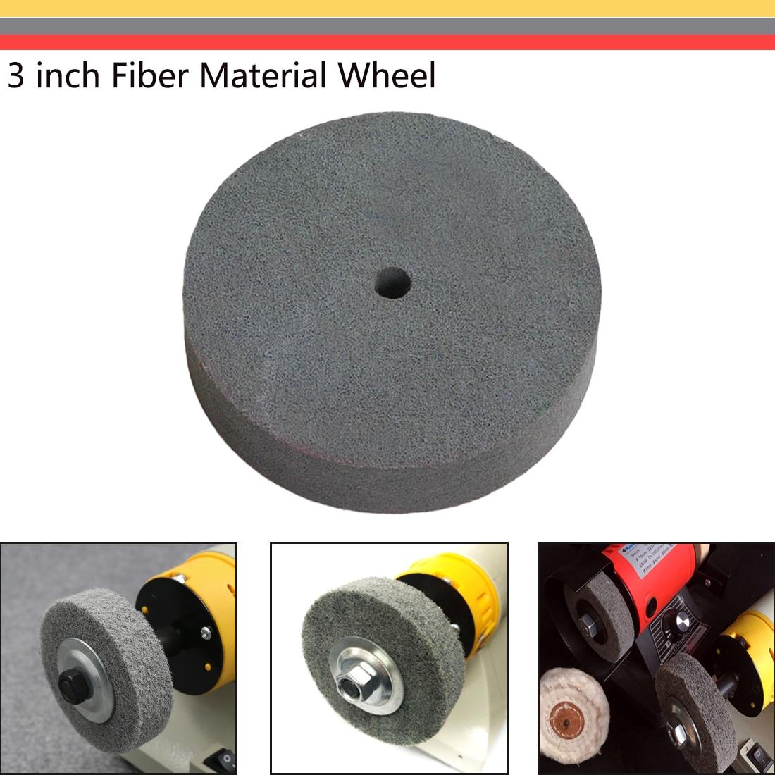 New Brand Original Import Abrasive Tool Polishing Tool 3 Inch Nylon Fiber Wheel Stainless Steel Table Mill Grinding Accessories