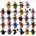 29 Стилей Плюшевые Рождественская Животных Xmas Руку Куклы, Кукла, Перчатки-марионетка Марионетка Игрушки Говорить Реквизит Для Детей Студентов