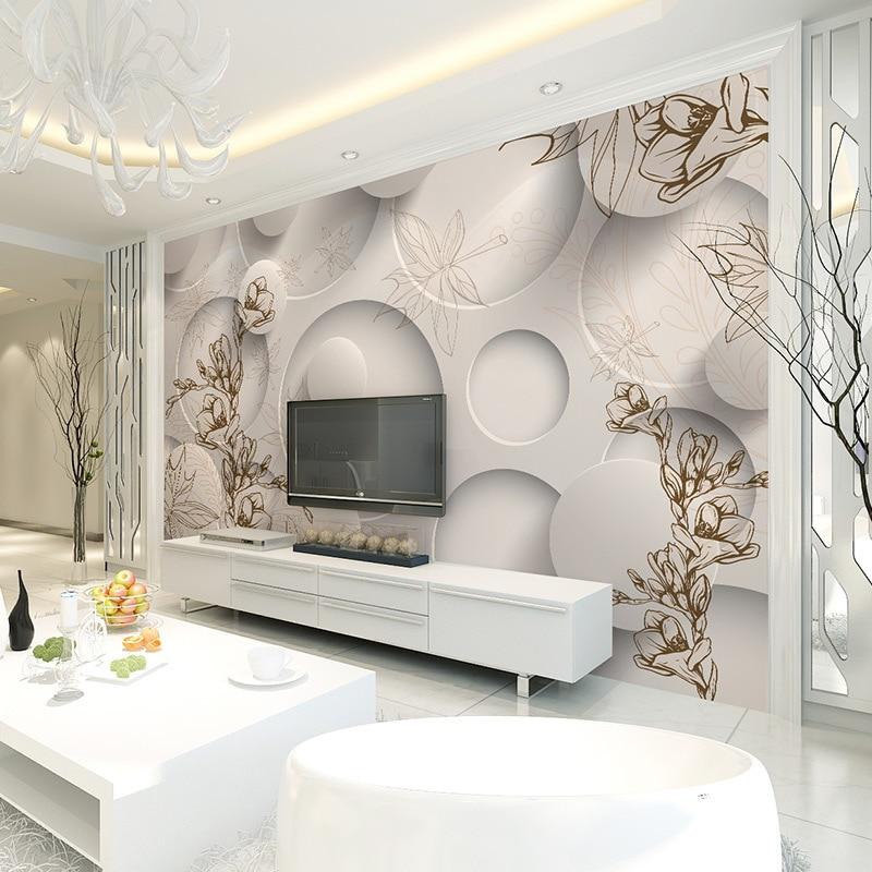 Buy beibehang european style garden home for 3d garden decoration