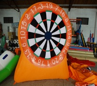 Popular Outdoor inflatable throwing game, inflatable dart board, inflatable sport for sale