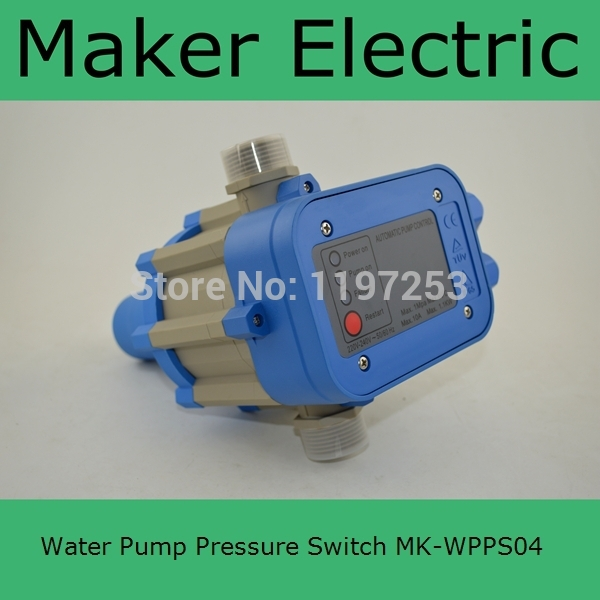 MK-WPPS04 Made In China Guaranteed High Quality Automatic Electric Electronic Switch Control Water Pump Pressure Controller mk wpps15 automatic water pump pressure controller electronic switch control water shortage protection with plug socket wires