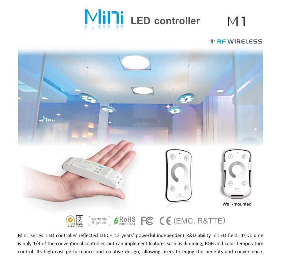Möbel & Wohnaccessoires perfk Wireless Remote LED Light Single Color RF Dimmer Controller Control Lampenfüße