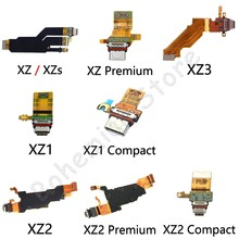 For Sony Xperia XZ XZs XZ1 XZ2 XZ3 1 2 3 Compact Premium Original USB Charging Port Charger Dock Connector Flex Cable Parts(China)