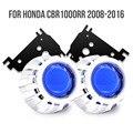KT сделанный на заказ HID проектор комплект для Honda CBR1000RR 2008-2016 HP2