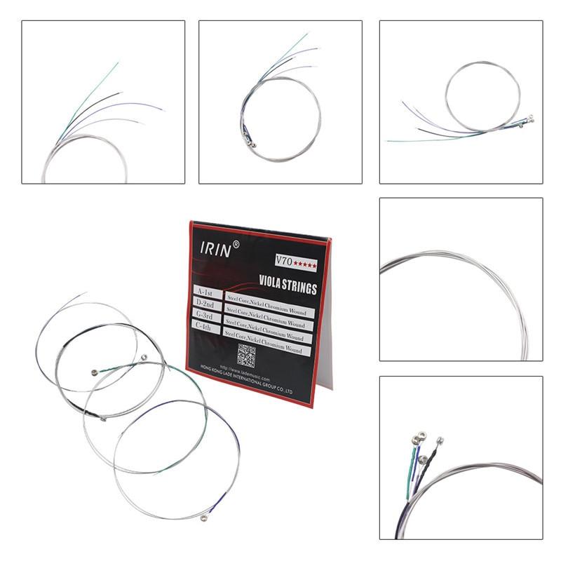 IRIN 1 Set V70 Viola String 1 Set Original Professional Viola Strings Nylon Core Aluminum Alloy Stringed Instruments Accessories